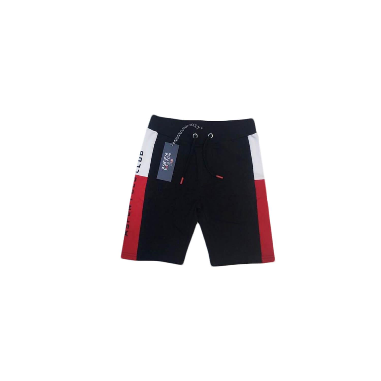 Black Red Shorts