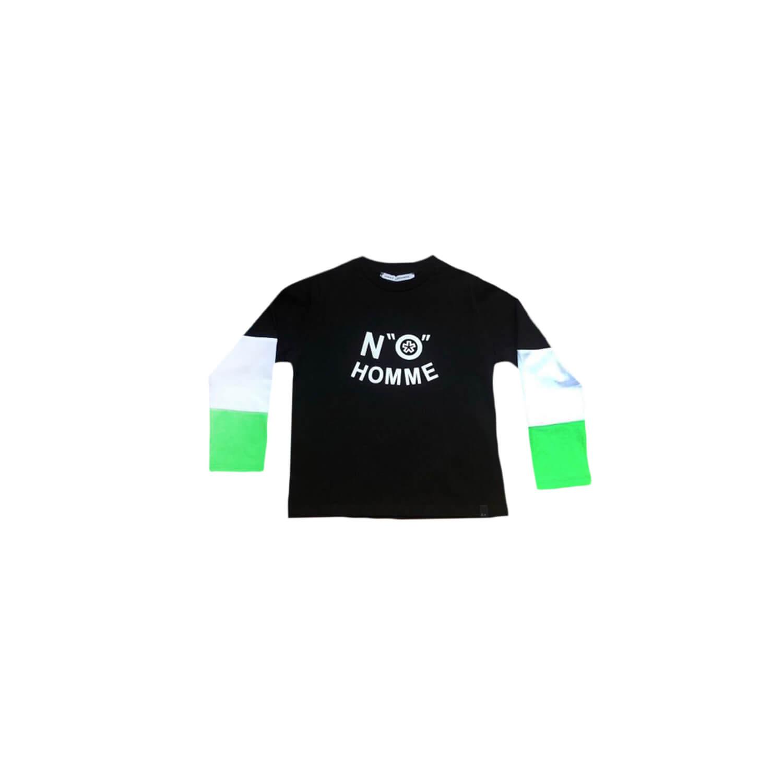 Black White Green Sweat