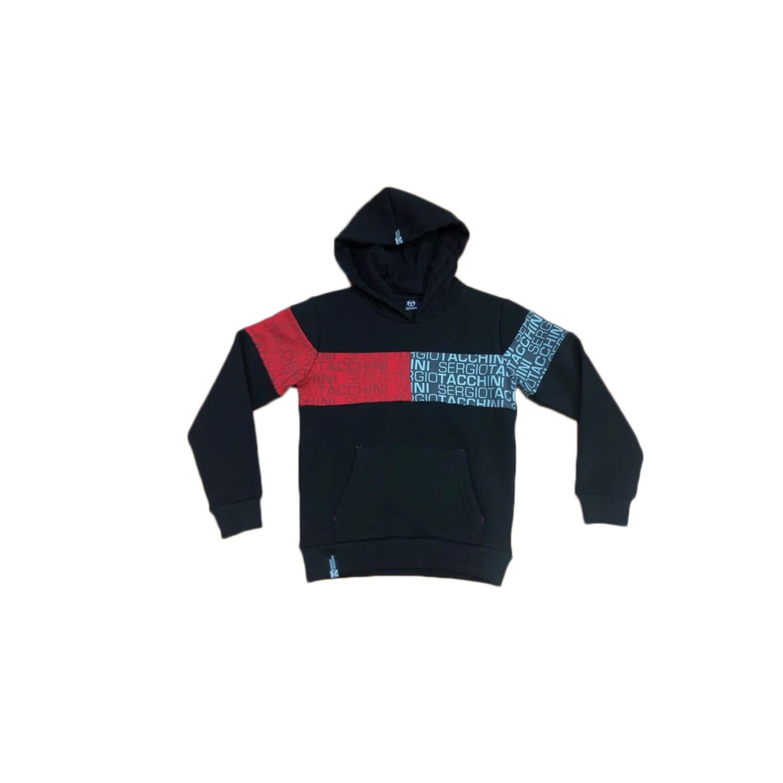 Red-Gray-Black Sweat