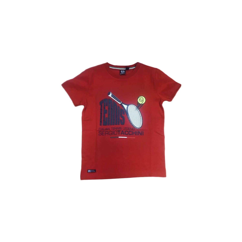 Red Tenis T-Shirt