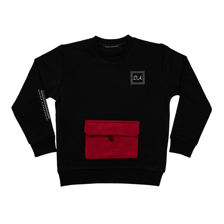 Black-Red Sweatshirt