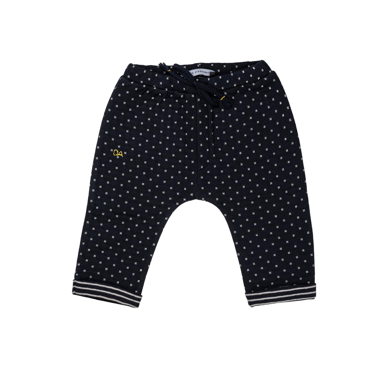 Dot Pattern Sweatpants