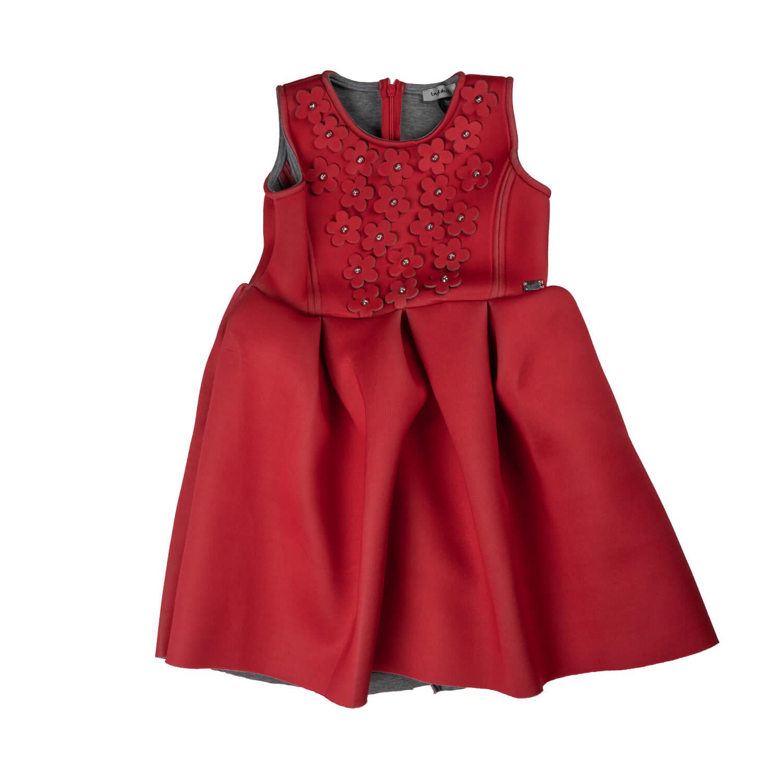 Red children's dress