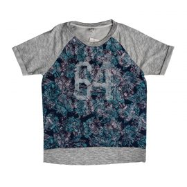 Grey Patterned T-Shirt